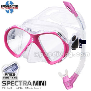 Scubapro spectra mask and snorkel